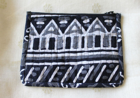 Upcycled Multi function Travel Cosmetic bag  design 13(small)
