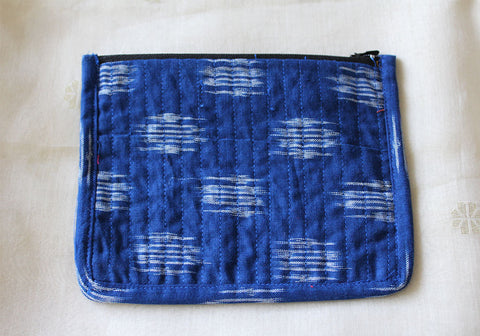 Upcycled Multi function Travel Cosmetic bag  design 20(small)
