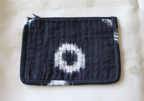 Upcycled Multi function Travel Cosmetic bag  design 26(small)