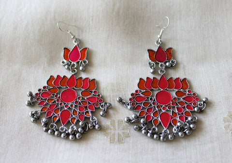 Tribal Afghan Earrings Design 157