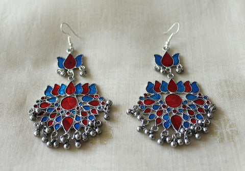 Tribal Afghan Earrings Design 158