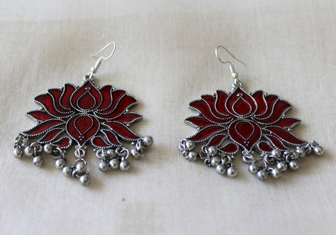 Tribal Afghan Earrings Design 168