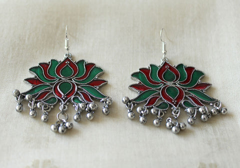Tribal Afghan Earrings Design 169