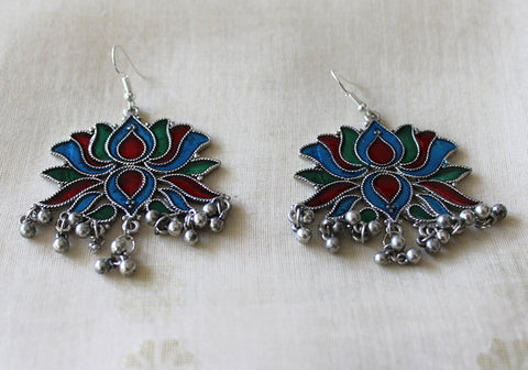 Tribal Afghan Earrings Design 170