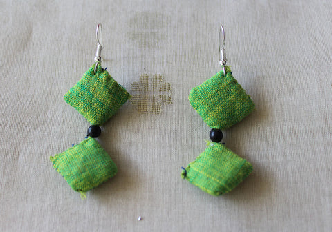 Upcycled Cloth Earrings Design 28