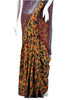 Half Cotton Half Net Kalamkari Saree