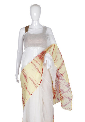 Kota Shibori Saree Design 3