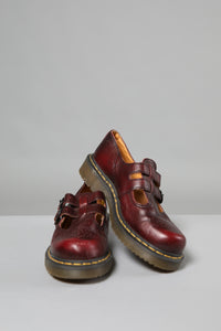 Dr Marten buckle up shoes