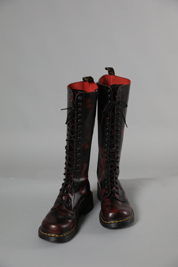 Dr. Martin's lace up long boot