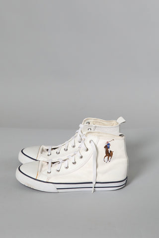 Ralph Lauren Leather High Tops