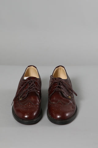 Blood Red Patent Brogue's