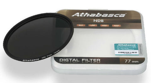 Athabasca ND8 Neutral Density Filter 77mm