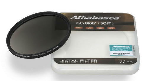 Athabasca GC-GRAY (Soft) Graduated Neutral Density Filter 77mm