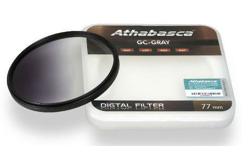 Athabasca GC-GRAY Graduated Neutral Density Filter 77mm (5.32mm)