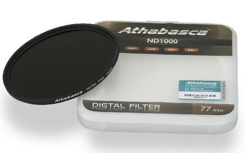 Athabasca ND1000 Neutral Density Filter 77mm