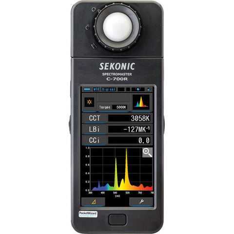 Sekonic C-700R SpectroMaster Light Meter