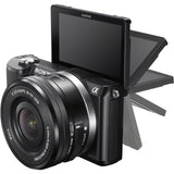 (SALE) Sony A5100 (Black) + E PZ 16-50mm f/3.5-5.6 OSS (FREE Sony 16GB SD Card)