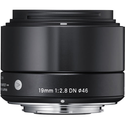 Sigma 19mm f/2.8 DN | ART (Black) – Sony NEX