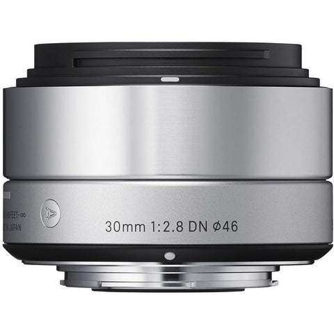 Sigma 30mm f/2.8 DN | ART (Silver) – Sony NEX
