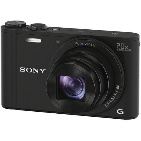 Sony DSC-WX350 Digital Camera (Black)