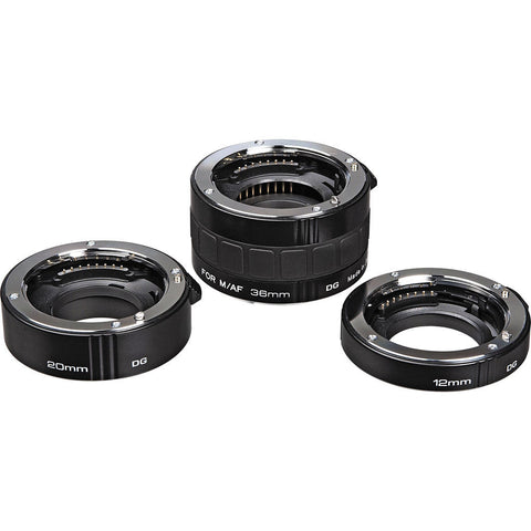 Kenko Auto Extension Tube Set DG for Sony Alpha Digital and Film Cameras