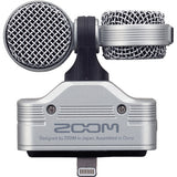 ZOOM iQ7 Mid-Side Stereo Microphone for iOS Devices with Lighting Connector