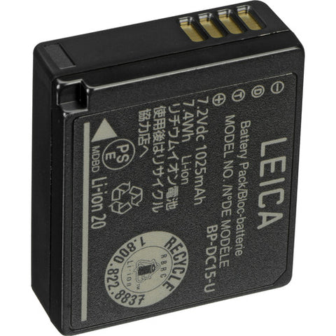 Leica BP-DC15 Rechargeable Lithium-Ion Battery for Leica D-LUX TYP 109