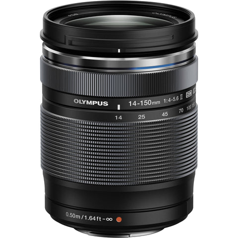 Olympus M.Zuiko Digital ED 14-150mm f/4-5.6 II (Black)