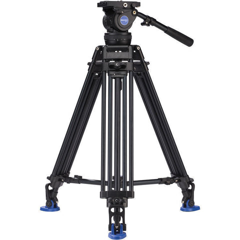 Benro BV10 Aluminum Dual-Tube Video Tripod Kit