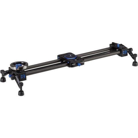 Benro C12D6 MoveOver12 Dual Carbon Rail Slider with Flywheel (600mm)