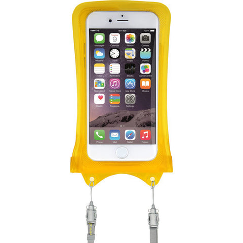 DICAPAC WP-i10 Waterproof Case for iPhone 5 / 6 / 7 (Yellow)
