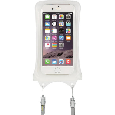 DICAPAC WP-i10 Waterproof Case for iPhone 5 / 6 / 7 (White)