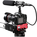 Saramonic SR-AX107 2-Channel XLR Audio Adapter with Isolation Transformer (For DSLR)