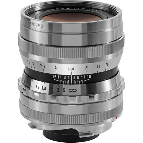 Voigtlander 35mm f/1.7 Ultron Aspherical (Silver) – Leica M mount