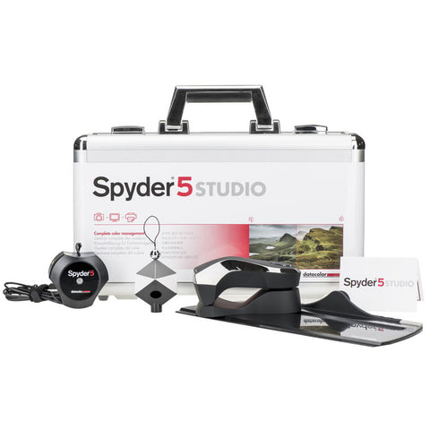 Datacolor Spyder5STUDIO Color Calibration Bundle