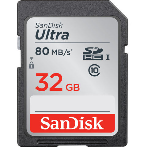 SanDisk Ultra SDHC Card 32GB (80MB/s)