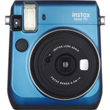 Fujifilm Instax Mini 70 Instant Film Camera (Blue)