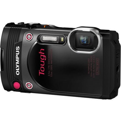 Olympus Stylus TOUGH TG-870 Digital Compact Camera (Black)
