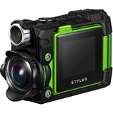 Olympus Stylus TOUGH TG-Tracker Action Camera (Green)