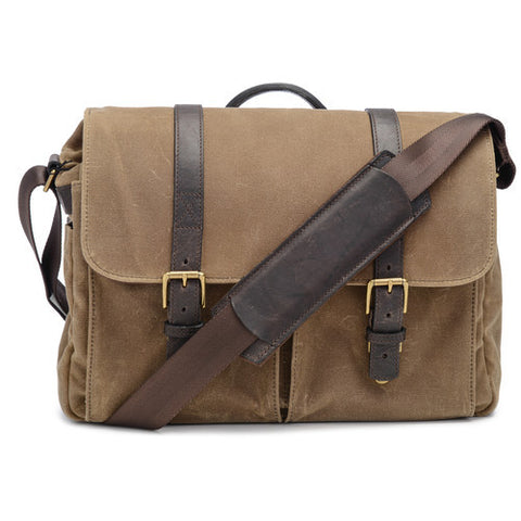 ONA Brixton Camera/Laptop Messenger Bag (Canvas / Field Tan)