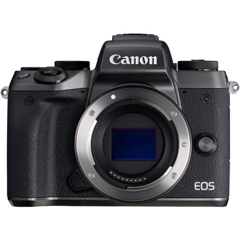 Canon EOS-M5 Mirrorless Digital Camera (Body) [FREE 16GB Card & Camera Bag]