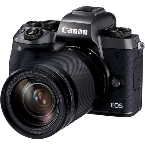 (MERDEKA SALE) Canon EOS-M5 + EF-M 18-150mm f/3.5-6.3 IS STM [FREE 16GB Card & Camera Bag]