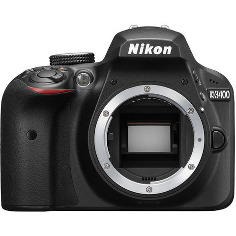 Nikon D3400 (Body Only - Black)