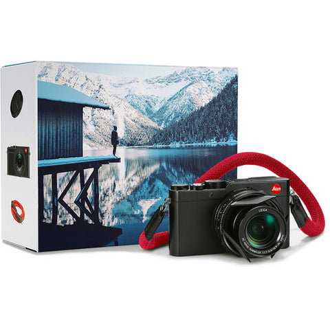 Leica D-LUX TYP 109 Digital Camera – Explorer Kit (Black) 18185