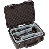 SKB iSeries 1510-6 Case with Think Tank-Designed Photo Dividers & Lid Foam (Black)