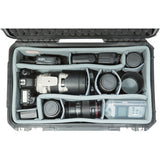 SKB iSeries 2011-8 Case with Think Tank-Designed Photo Dividers & Lid Foam (Black)