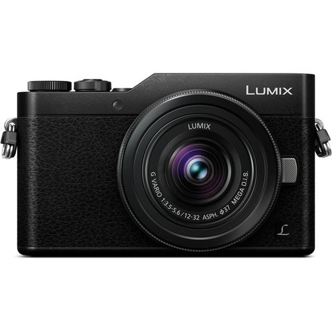 (SALE) Panasonic DMC-GF9 (Black) + Lumix G Vario 12-32mm f/3.5-5.6 MEGA OIS (Black) [Free Camera Case & 16GB SD Card]