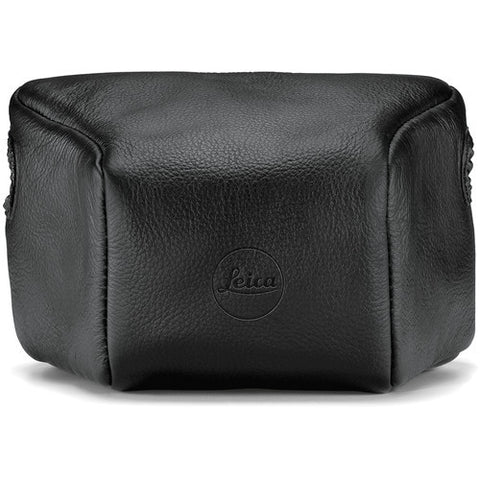 Leica Leather Pouch – Short (Black) 14893