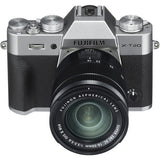 (SALE) Fujifilm X-T20 (Silver) + XC 16-50mm f/3.5-5.6 OIS II (Black) [Free Extra NP-W126 Battery + 32GB SD Card)