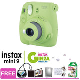 Fujifilm Instax Mini 9 Instant Film Camera Ginza Special Kit (Lime Green)